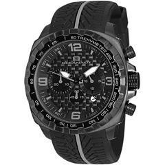 Oceanaut Mens Black Strap Watch-Oc1123
