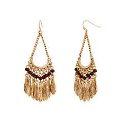 EL by Erica Lyons Gold Over Brass Drop Earrings