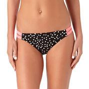 Arizona Dots Hipster Swimsuit Bottom-Juniors