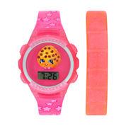 Shopkins Girls Multicolor Strap Watch-Kin4014jc