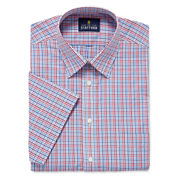 Stafford Travel Short-Sleeve Broadcloth - Big And Tall