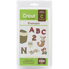Cricut® Font Cartridge—Fontopia