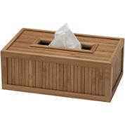 Creative Bath™ Eco Style Bamboo Rectangular Tissue Holder