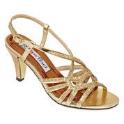 2 Lips Too Emma Jeweled Slingback Sandals