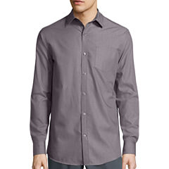 Claiborne® Long-Sleeve Chambray Shirt