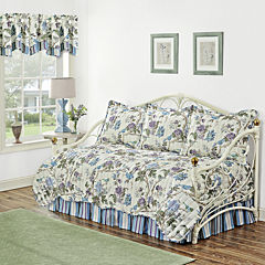 Waverly® Charleston Chirp Larkspur 5-pc. Reversible Daybed Cover Set