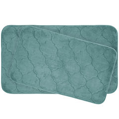 Bounce Comfort Faymore 2-pc. Memory Foam Bath Mat Set