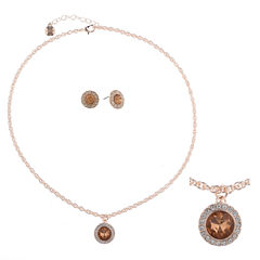 Monet Jewelry Womens 2-pc. Orange Jewelry Set