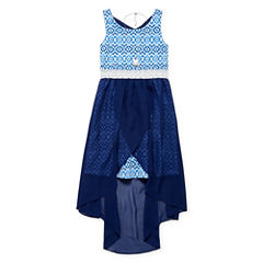 Emily West Sleeveless Fit & Flare Dress - Big Kid Girls