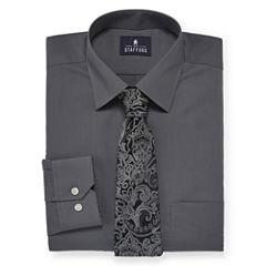 Stafford® Travel Easy-Care Dress Shirt and Tie Set - Big & Tall (copy)