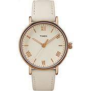 Timex Southview Womens White Strap Watch-Tw2r283009j