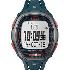 Timex Ironman Sleek 150 Unisex Blue Strap Watch-Tw5m097009j