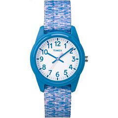 Timex Girls Blue Strap Watch-Tw7c121009j