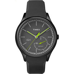Timex IQ+ Move Black Analog Smartwatch Activity Tracker-TW2P95100F5