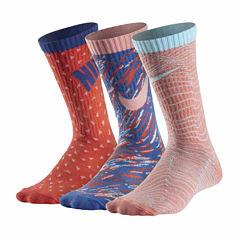 Nike Test 3 Pair Crew Socks