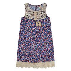Arizona Swing Dresses-Big Kid Girls