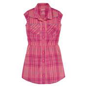 Arizona Sleeveless Shirt Dress - Big Kid