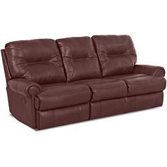 Brinkley Leather Reclining Motion Sofa