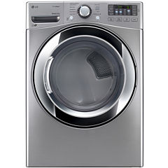 LG 7.4 cu. ft. Ultra Large Capacity Gas SteamDryer™ w/ NFC Tag On