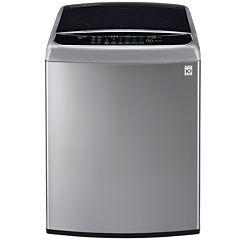 LG ENERGY STAR® 4.9 cu. ft. High Efficiency Mega Capacity Front Control TurboWash™ Washer