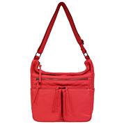 St. John`s Bay Multi Pocket Hobo Bag