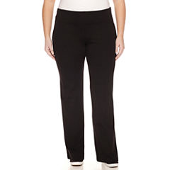Liz Claiborne Solid Knit Leggings-Plus