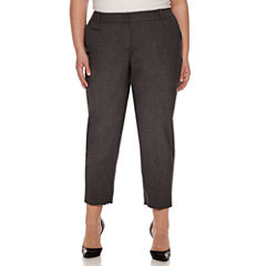 Worthington® Modern Fit Suiting Ankle Pants - Plus