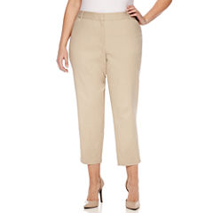 Liz Claiborne Ankle Pants-Plus