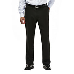 Haggar® 2-Tone Plaid Microfiber Dress Pants