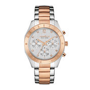 Caravelle New York® Womens Boyfriend Chronograph Two-Tone Stainless Steel Bracelet Watch 45L156
