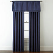 Liz Claiborne® Kathryn Room-Darkening Pinch-Pleat/Back-Tab Window Treatments