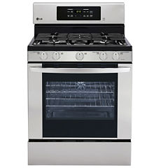LG 5.4 cu. ft. Capacity Freestanding Oven Gas Range with EasyClean®