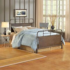 Elliot Old Rust Metal Bed or Headboard