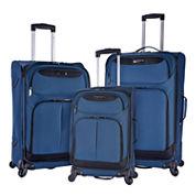 Travelers Club Naples 3-pc. Luggage Set