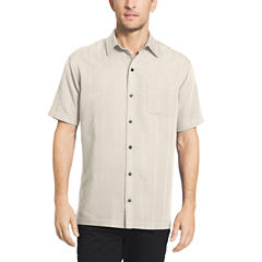 Van heusen white for men jcpenney for Stafford white short sleeve dress shirts