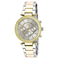 Invicta Womens Gold Tone Bracelet Watch-20470