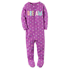 Carter's One Piece Footie Pajama-Baby Girls