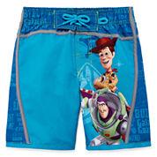Disney Toy Story Boys Solid Trunks-Big Kid