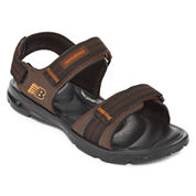 New Balance® Mens Water-Resistant Double-Strapped Sandals
