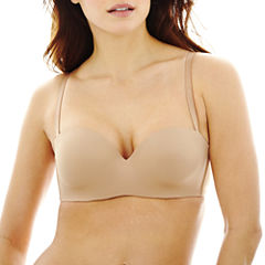 Ambrielle® Everyday Full-Figure Convertible Strapless Bra
