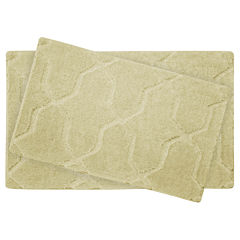 Jean Pierre 2-pc. Pearl Drona Bath Rug Set