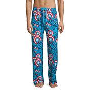 Captain America Knit Pajama Pants