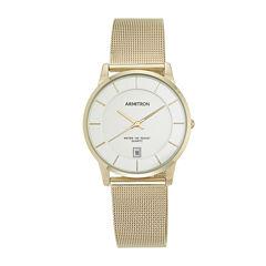 armitron watches armitron watch collection jcpenney armitron® mens gold tone bracelet watch