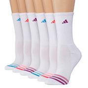 Adidas 6 Pair Crew Socks