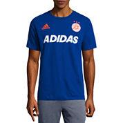 Adidas Short Sleeve Crew Neck T-Shirt