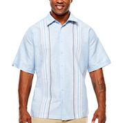 Havanera Button-Front Shirt-Big and Tall