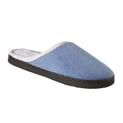 Isotoner® Microterry Wide-Width Clog Slippers