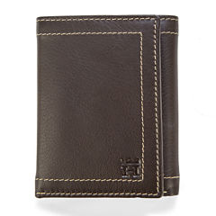 Haggar® Buckskin Trifold Leather Wallet