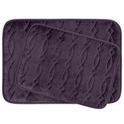Bounce Comfort Grecian 2-pc. Memory Foam Bath Mat Set