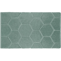 Laura Ashley™ Pearl Honeycomb Bath Rug Collection